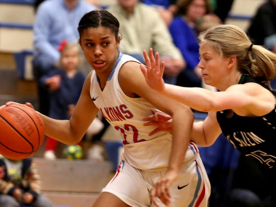 South Salem's Evina Westbrook (22) helped the Saxons repeat as 6A state champions and was named 6A state player of the year.