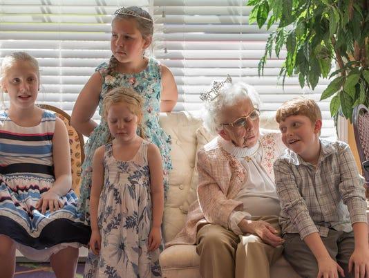 Mary Baird's 90th Birthday 4