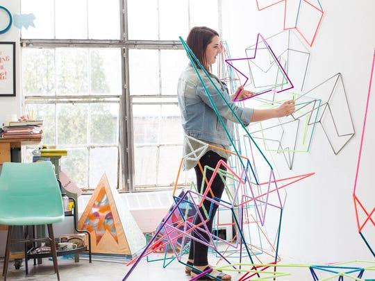 Cranbrook Academy of Art sculpture student Chrissy