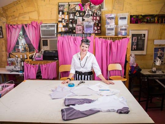 Valley fashion designer and ASU instructor Angela Johnson