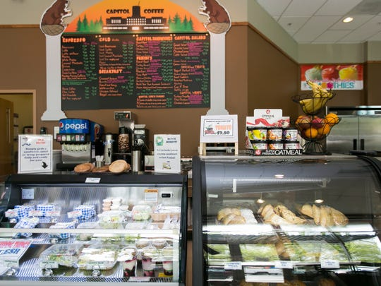Frank Smith opened Capitol Coffee at 555 Court St. NE on April 18. The coffee shop also serves up a selection of pastries, grab-and-go sandwiches, fruit smoothies and other items.