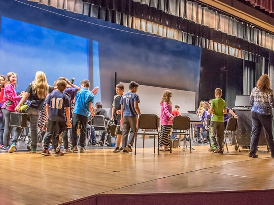 If voters approve Lakeview School District's bond issues on May 3, middle school music classes will no longer have to learn on the auditorium stage and will get more classroom space.