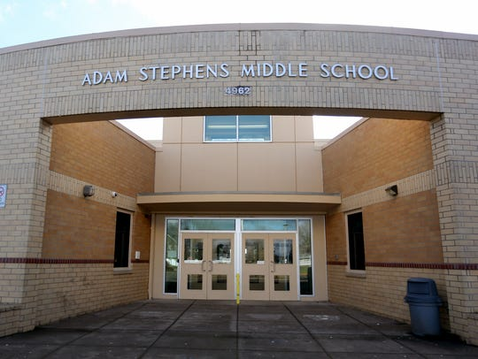 Stephens Middle School in Salem. Photographed on Sunday,