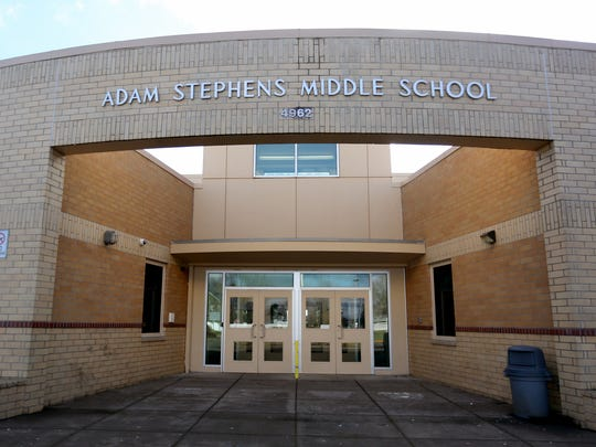 Stephens Middle School in Salem. Photographed on Sunday, Jan. 31, 2016.