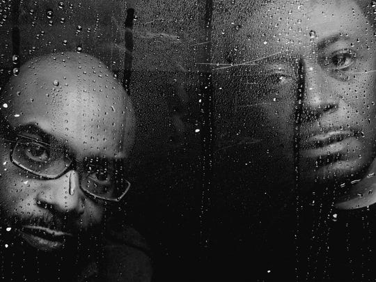 """Detroit techno group Octave One, in a photo featured in the new book """"313OneLove"""" by Marie Staggat."""