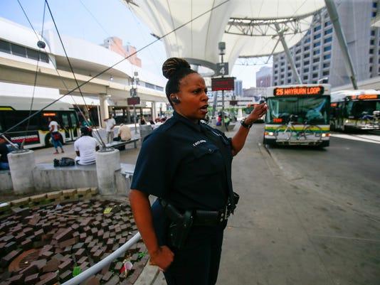 Detroit transit police