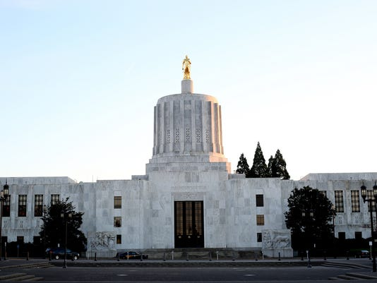oregon capitol standing art
