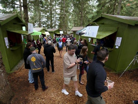The Oregon Garden Brewfest in Silverton returns June 16-18.