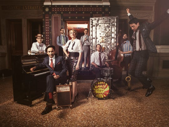 Jazz ensemble the Hot Sardines, due Friday at 3Fifty Terrace, offer fresh takes on vintage 20th-Century tunes.
