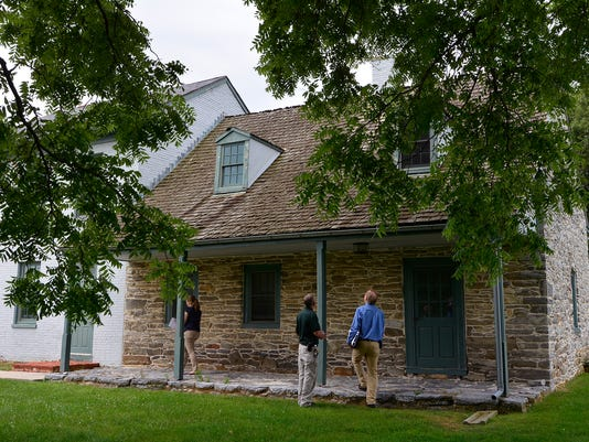 PHOTOS: County looks at Strickler House