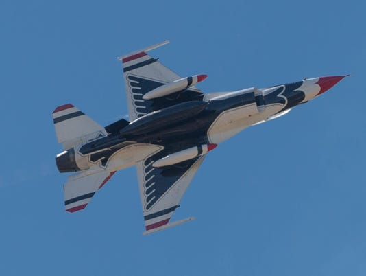 Air Force Thunderbird 4