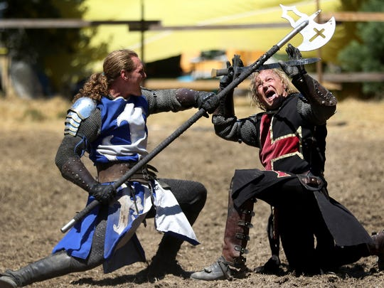 Canterbury Renaissance Faire happens each July for two weeks.