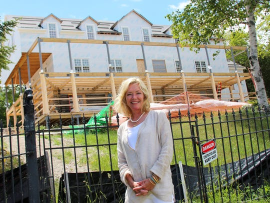 Liz Ware, whose family owns Mission Point Resort, is