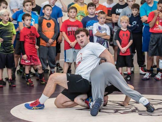 Wrestling Camp 3