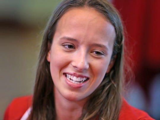 IU Olympic diver Jessica Parratto