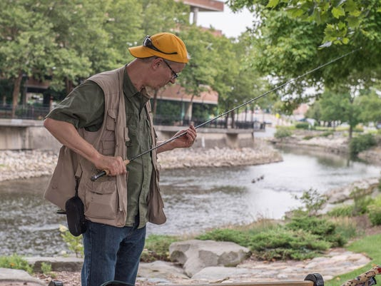 Fly Fishing on the Battle Creek River 1