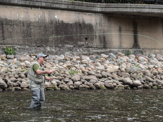 Fly Fishing on the Battle Creek River 12