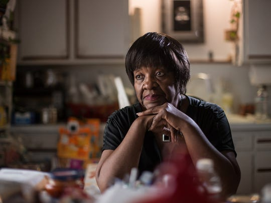 """No one has said how this is going to affect the seniors who have been here for a long time. We really don't know how long the water has been bad,"" said Elnora Carthan, 70, of Flint. She has lived in her home on Flint's north side for more than 40 years and has experienced health issues."