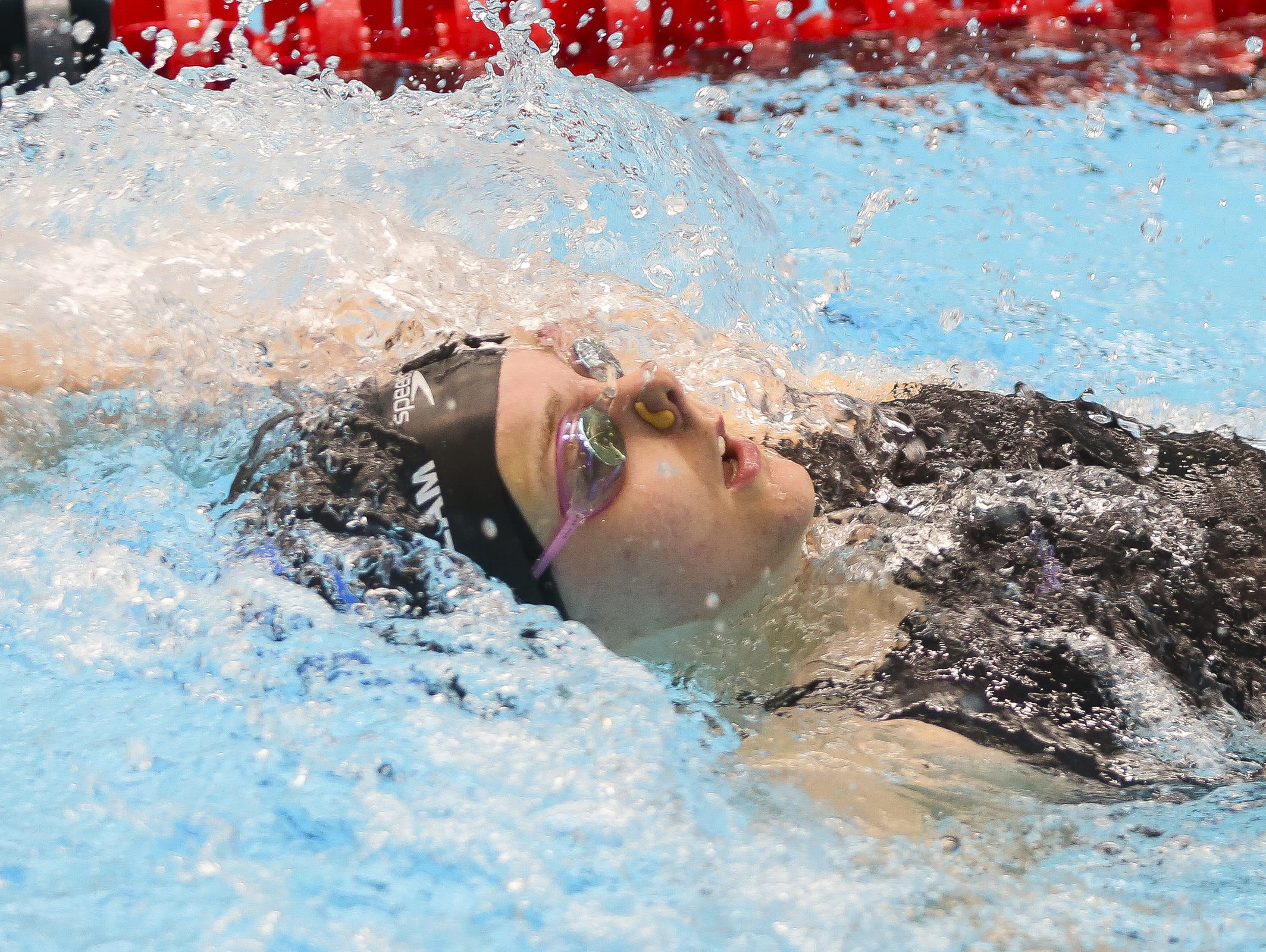 FILE – Carmel's Sammie Burchill picked up a win at the junior national championship in the 200 individual medley.