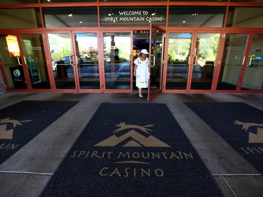 Spirit Mountain Casino in Grand Ronde, Ore., on Monday, Aug. 15, 2016.