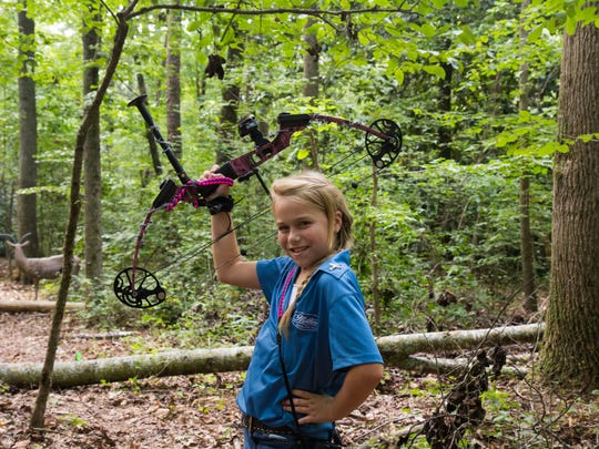 Popular 3D archery allows hunters and non-hunters alike to shoot life-size models of animals.