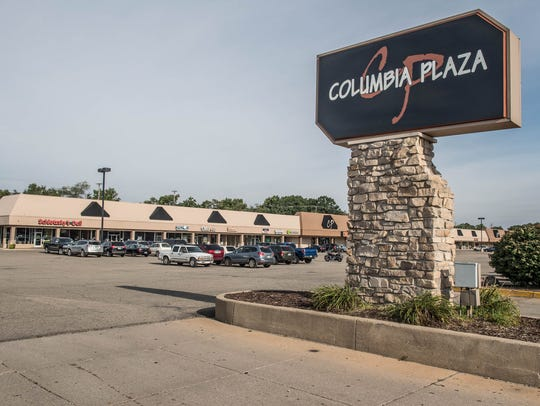 Columbia Plaza in Battle Creek.