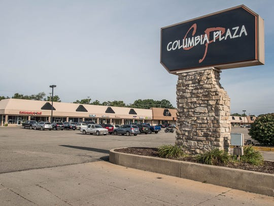 Columbia Plaza in Battle Creek.