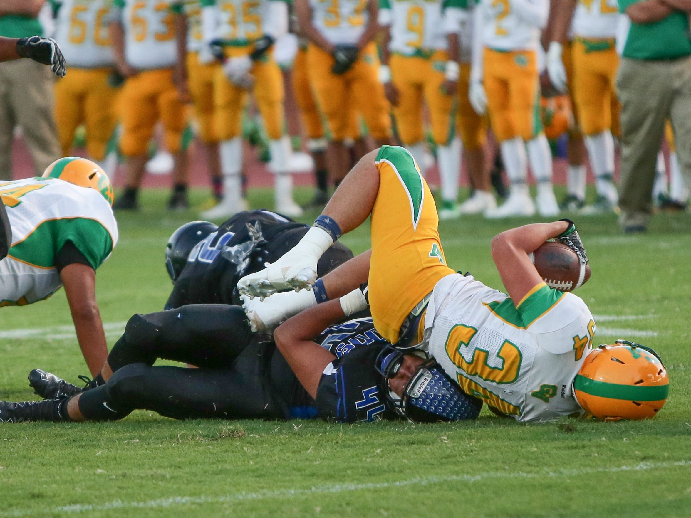 Cathedral City High School plays Coachella Valley High