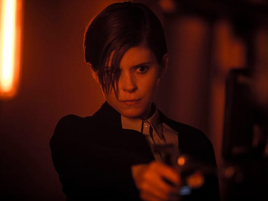 "Kate Mara in the movie ""Morgan"" portrays a corporate"