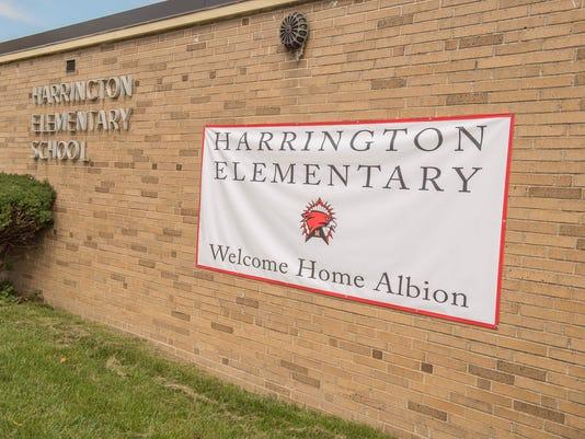 Harrington Elementary in Albion 8