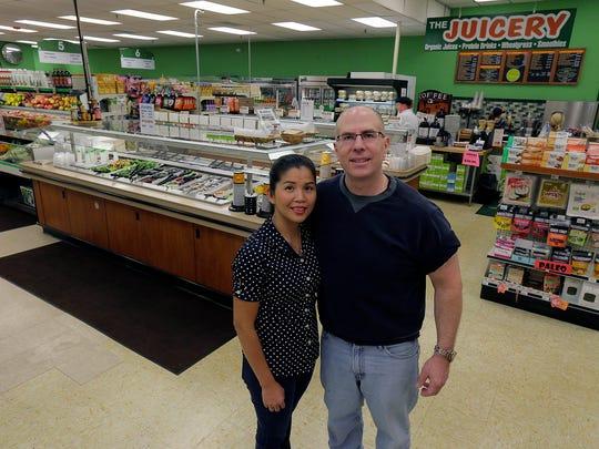 Jeffrey and Tammy Stallop own HealthFair in Little