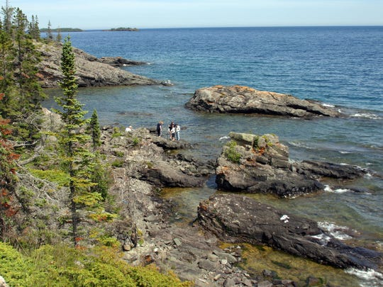 Isle Royale, Michigan  - remote but worth it.