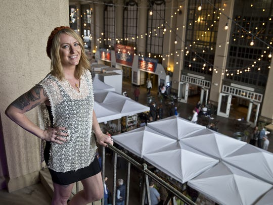 Jenny Vickers is the founder of the Asbury Park Bazaar