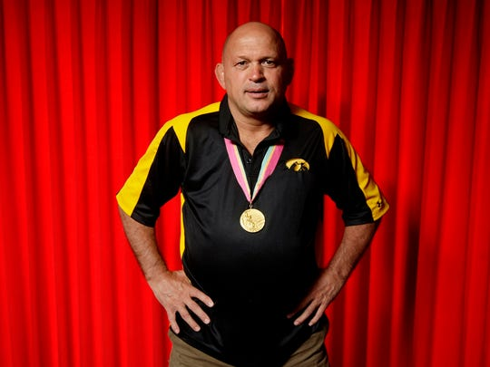 Randy Lewis is a 1984 Olympic gold medalist in freestyle wrestling. He won his gold medal in Los Angles at 136.5 pounds.