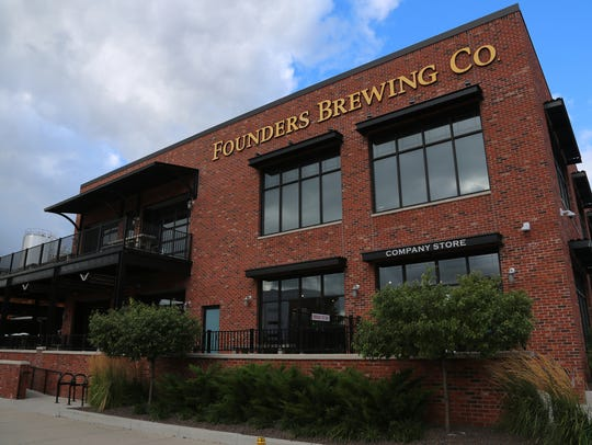 Founders Brewing Co. in Grand Rapids brews a special