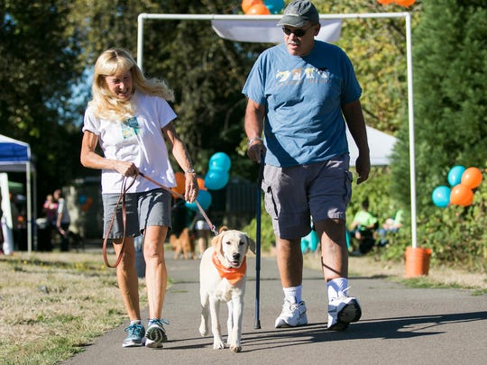 """Walk-n-Wag:7th annual event to support Willamette Valley Hospice as it raises funds to help care for the""""best friends"""" of hospice patients,their beloved animal companions,9 a.m. to noon Saturday, Sept. 14, Minto-Brown Island Park, 2200 Minto Island Road SW, Salem. $10 online registration through Sept. 12; $15 registration at the event; children 12 and under are free. fb.com/657032591377027."""