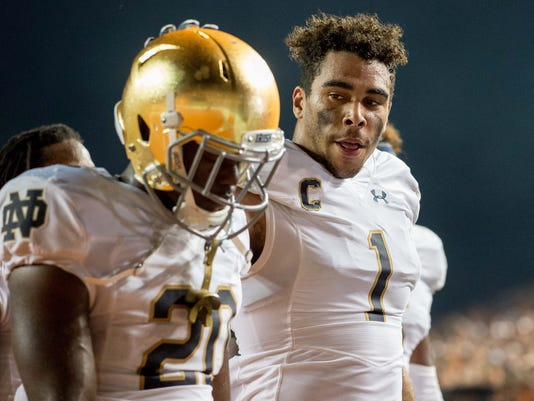 NCAA Football: Notre Dame at Texas