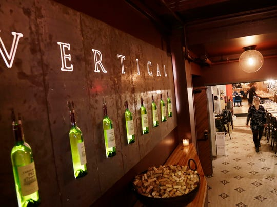 Vertical Detroit wine bar and restaurant is located