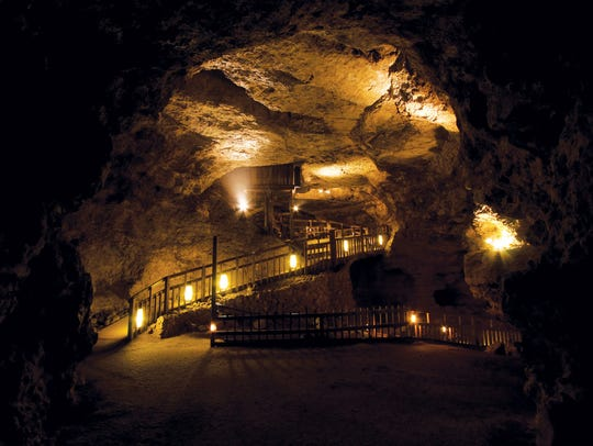 Discovered in 1881 by two local farmers Crystal Cave