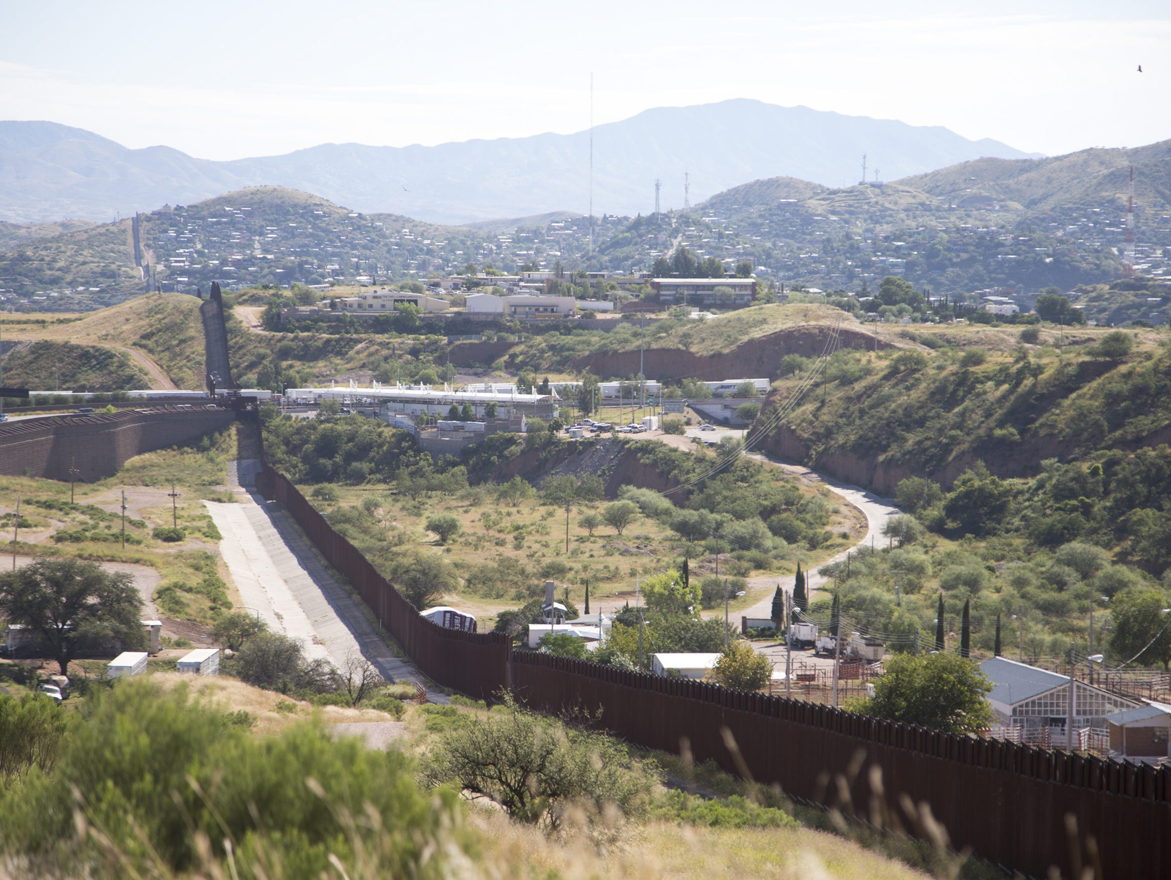 There is much less activity along the U.S.-Mexico border