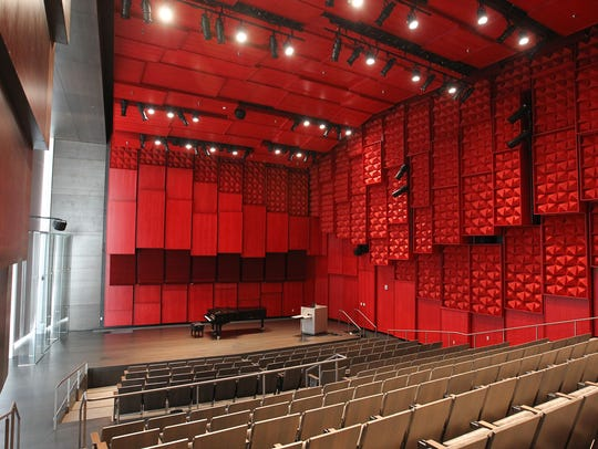 The University of Iowa Voxman Music Building's 200-seat
