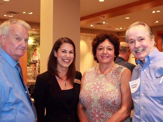 Fred Forbes, Tiffany Esposito, Kathleen Passidomo,