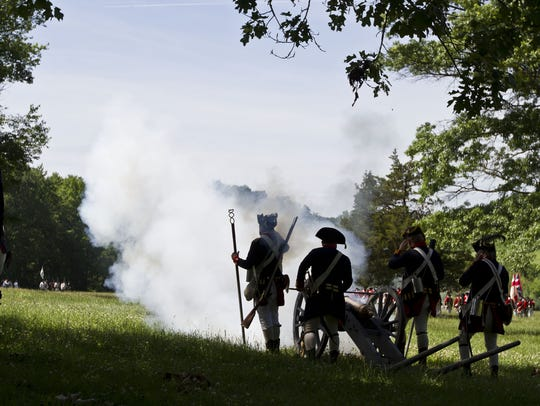 The Battle of Monmouth at Monmouth Battlefield State
