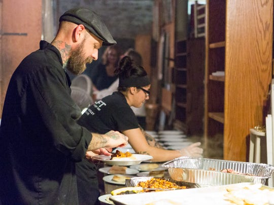 Chef Billy Charters of Stuft: A Burger Bar works on