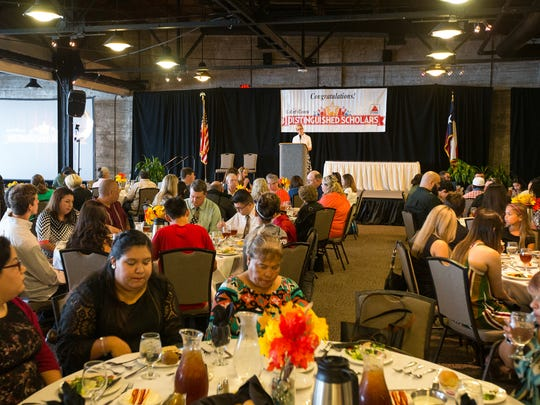 Winners, their families and supporters gathered Saturday, Nov. 5, 2016 at the 2016 Caller-Times/Citgo South Texas Distinguished Scholars banquet at the Congressman Solomon P. Ortiz International Center.