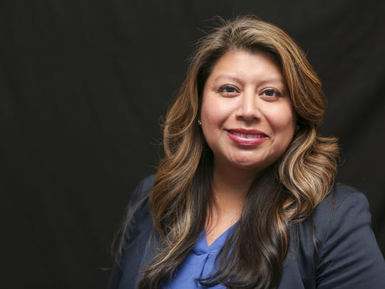 Teresa Alonso Leon, candidate for Oregon House District 22,  at the Statesman Journal on Monday, Sept. 26, 2016.