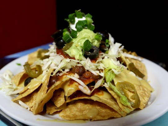 Mini nachos at the Space Concert Club are part of an