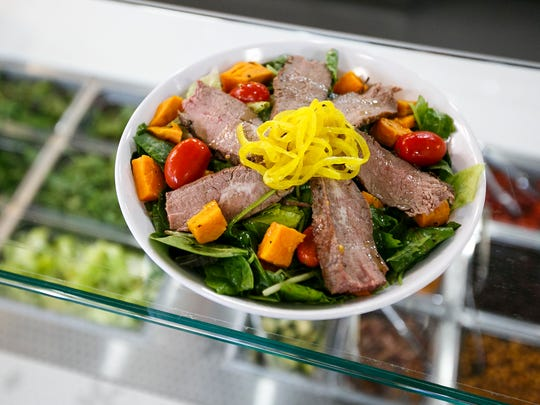 The El Gaucho salad at Ritter's Housemade Foods has