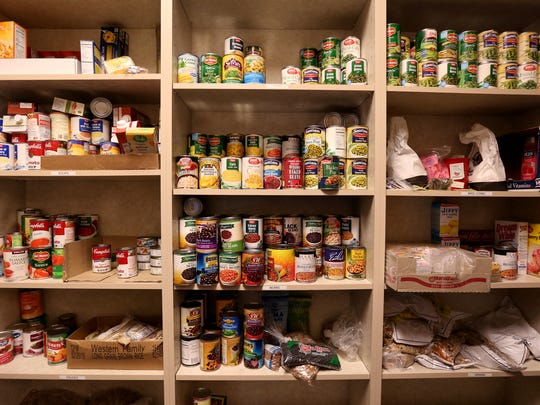 The Chemeketa Food Pantry provides non-perishable and fresh foods for students and their families. Toiletries and pet food are also available. Photographed at Chemeketa Community College in Salem on Thursday, Dec. 1, 2016.