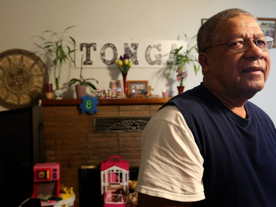 "Rosendo ""Ross"" Tonga immigrated to the United States from Micronesia more than 30 years ago. Photographed in his home in Salem on Monday, Dec. 5, 2016."